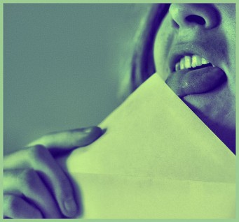 Licking Envelopes