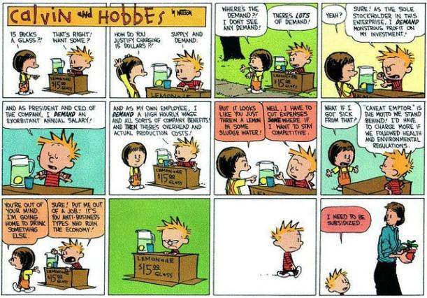 Calvin & Economy