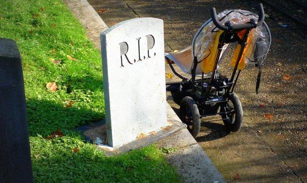 Stroller Grave